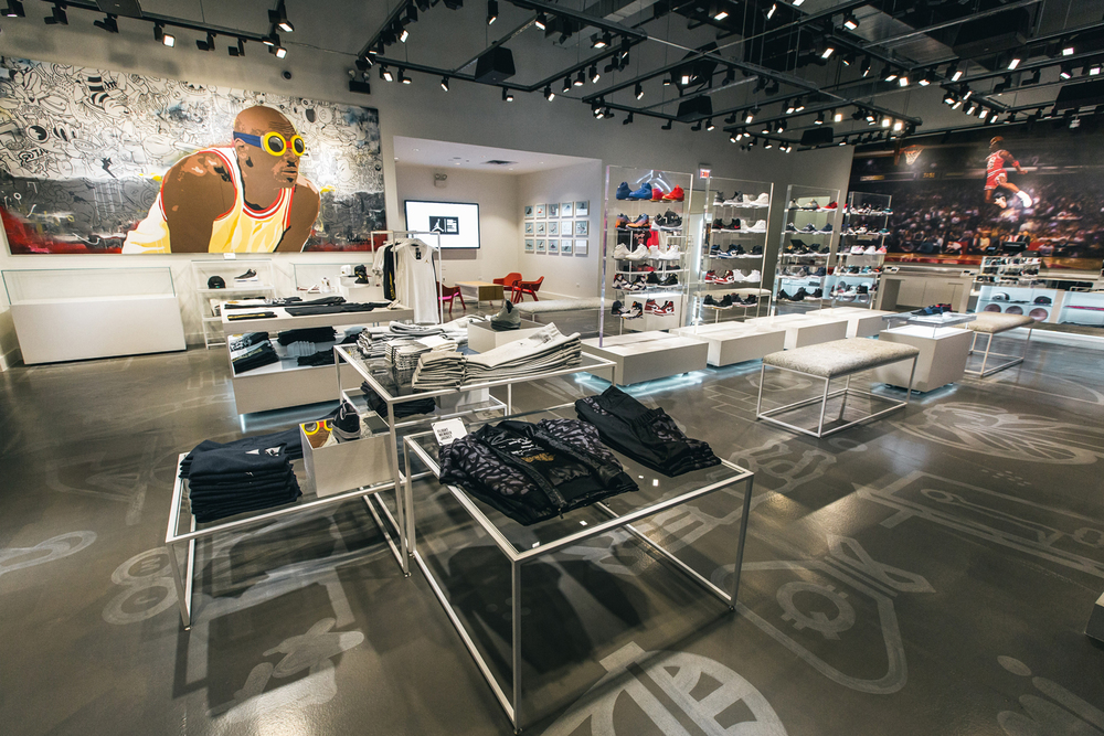 AIR JORDAN CHICAGO STORE