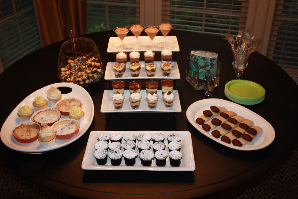 Catering Dessert Table Miss Sonja S Bake Shoppe