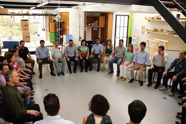 Técnica de Mindfulness no workshop corporativo que fizemos na unidade da Vila Madalena na semana passada.