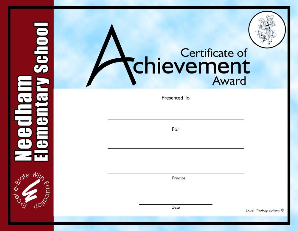 Award Item: COA-1