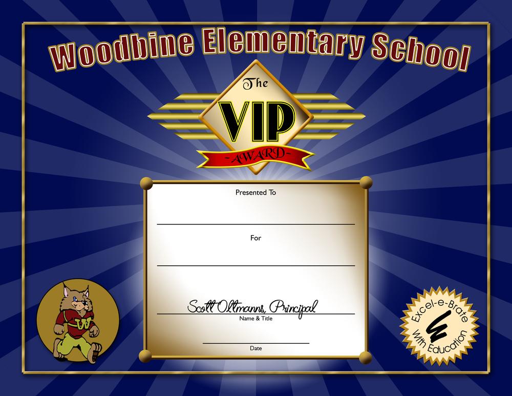Award Item: VIP-1
