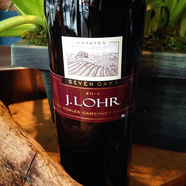 J Lohr Cabernet Sauvignon  Black Cherry, Blackcurrant, Cedar, Vanilla and Spice Try with our Steak Specials, Roux Burger, Duck Confit and our Pulled Pork Poutine  #trythatwine #rouxstir #torontorestaurants #junction #junctionto #wine