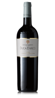 Duca Enrico - strong, round, well-balanced, with woody scents and a blend of ripe fruit, irises and spices