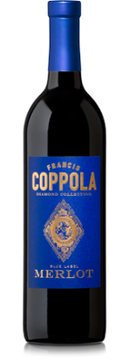 Francis Coppola Diamond Collection Merlot  - intense aromatics of raspberry and blueberry lead to flavors of crushed berries, vanilla and leather, wrapped up in a soft, smooth tannin structure