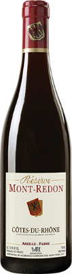 Chateau Mont-Redon Côtes du Rhône  - dark berries and raspberries on the palate are offset by slight grilled notes and nuances of licorice
