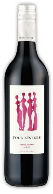 Four Sisters Shiraz  - a medium-bodied wine with ripe, plump aromas and flavors of raspberries, plums and blackcurrants and background notes of spice and licorice