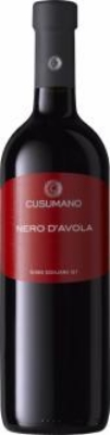 Cusumano Nero D'Avola  - fruit-forward with firm tannins and plummy spice flavors