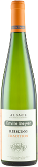 Emile Beyer Riesling  -  a dry, fruity white with notes of lemon and a crisp finish