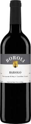 Boroli Barolo  - ripe red fruits and the heady scents of leather and tobacco on the nose; the palate delivers notes of blackberries, oak, vanilla, and even a little espresso, with firm, long-lasting tannins on the finish