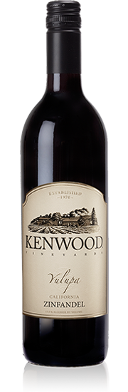 Kenwood 2011 Yulupa Zinfandel- fruit-forward and balanced, with a nice touch of acidity and mild tannins. Surprisingly refreshing to drink with a meaty, white fish!