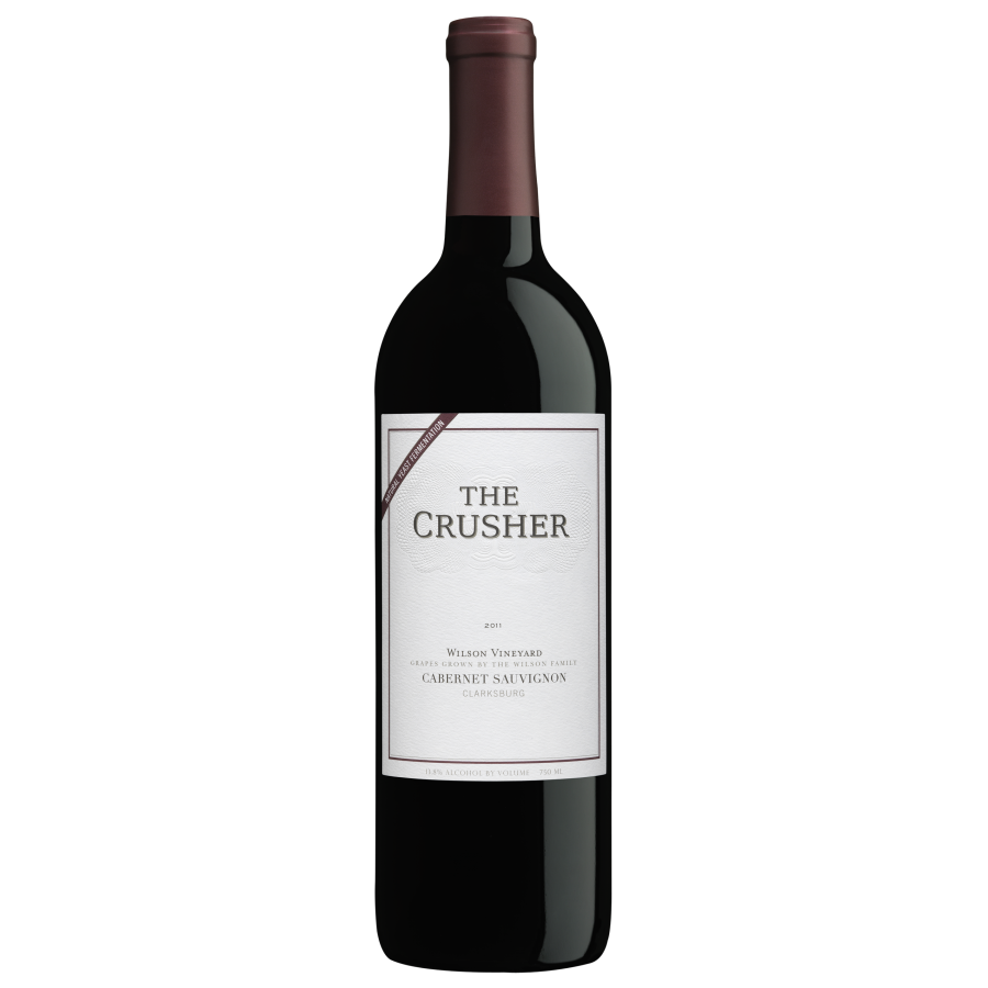 The Crusher Cabernet Sauvignon ($18) – this one's for your steaks. A ribeye, if Amy has anything to say about it.