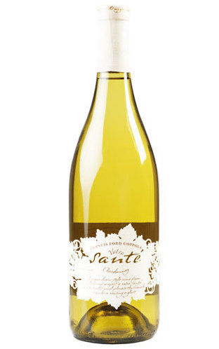 Francis Ford Coppola Votre Santé Chardonnay 2013 ($15.99) - slightly oaky and buttery, with a little minerality. This wine's full of lemon and vanilla notes, and the medium-high alcohol content makes this a great accompaniment for richer meals.