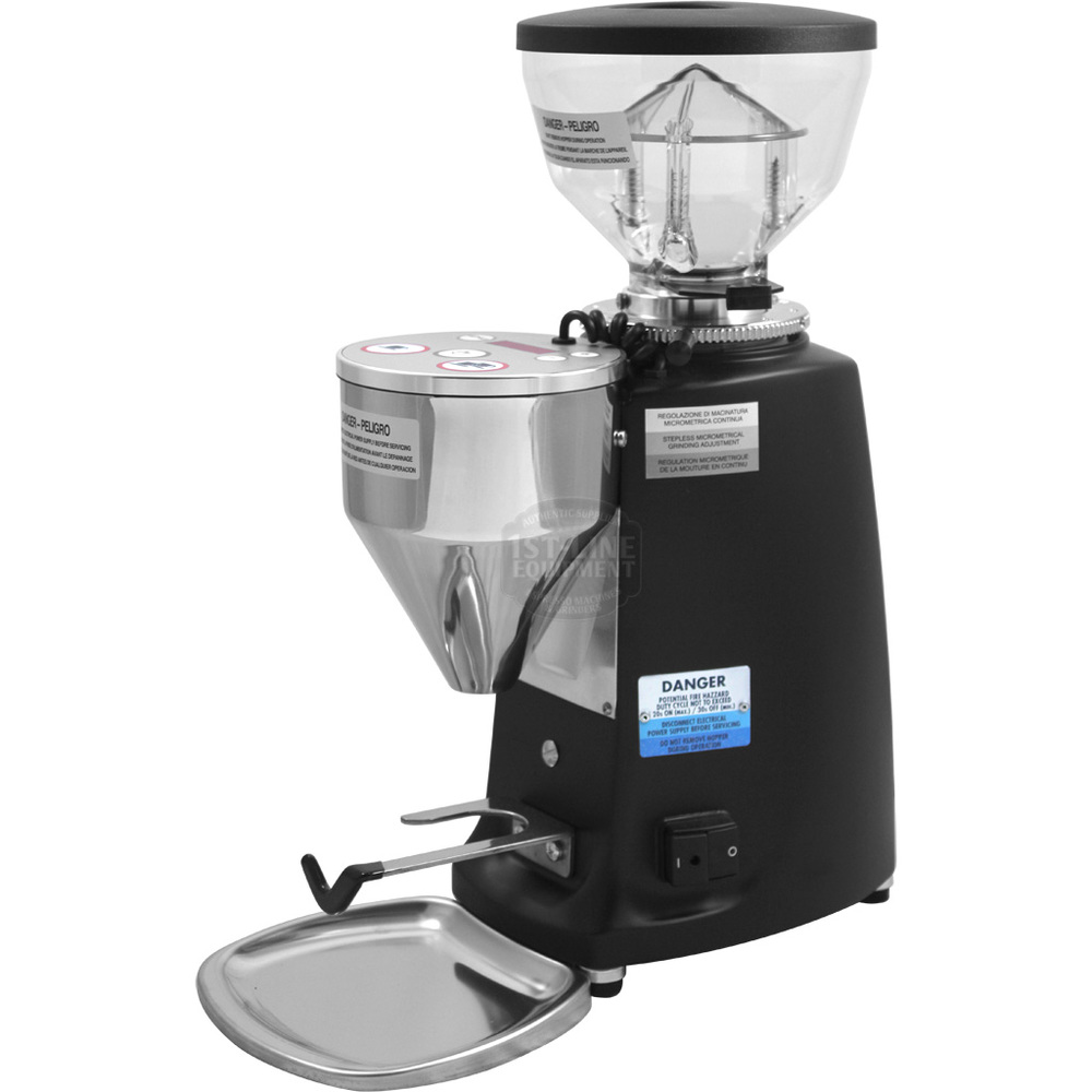 Shown: Mazzer Mini electronic grinder