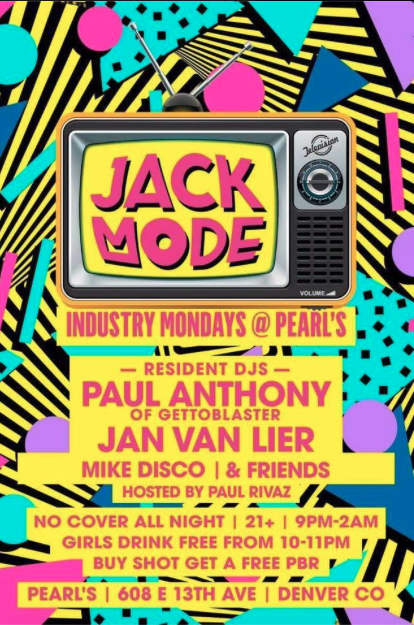 INDUSTRY MONDAY'S A night of house music with DJ Paul Anthony Jan Van Lier Mike Disco & Voloco NO COVER Ladies drink free 10p-11p BUY A SHOT GET A FREE PBR ALL NIGHT