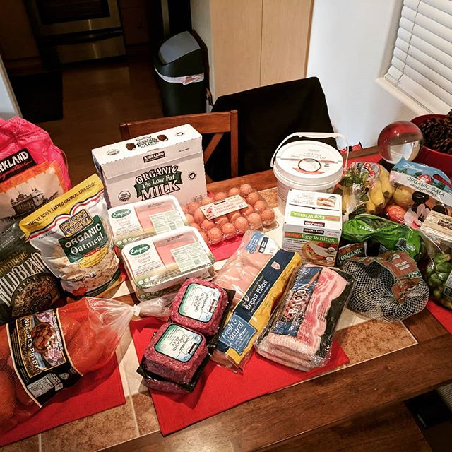 Now that's how you do a Costco run...all for 200!