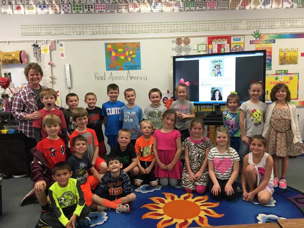 Mrs. Maldonado's Grade One class in Lorena, Texas