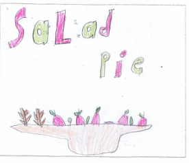 Haaziq's Salad Pie