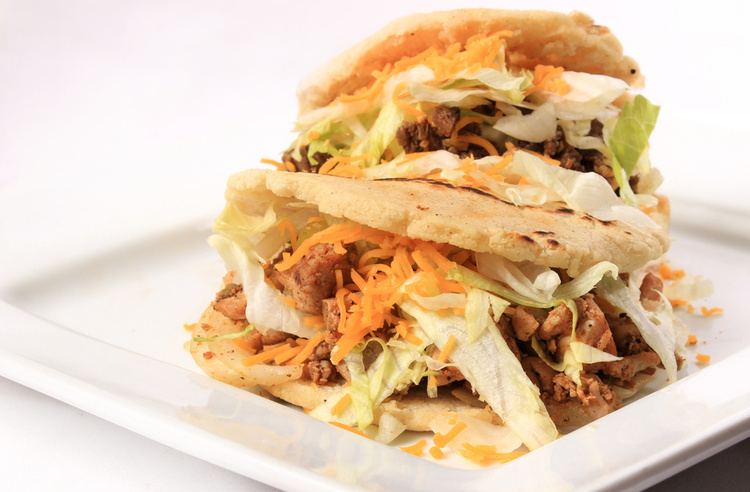 GORDITAS ($6)   Enjoy our fresh Homemade gordita made to order! Your choice of beef or chicken. (Lettuce, Cheese, Tomatoes, Guacamole &Sour Cream.)