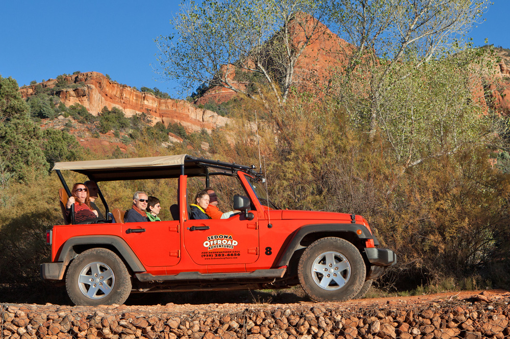 Sedona Offroad Adventures Jeep Tours Vortex