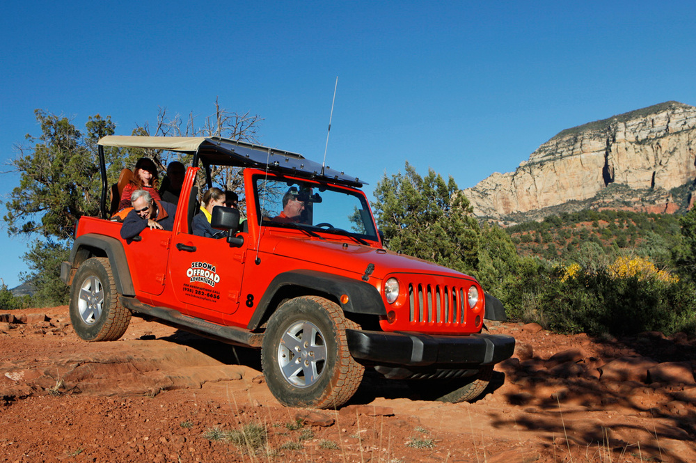 Sedona Offroad Adventures Jeep Tours Rattler
