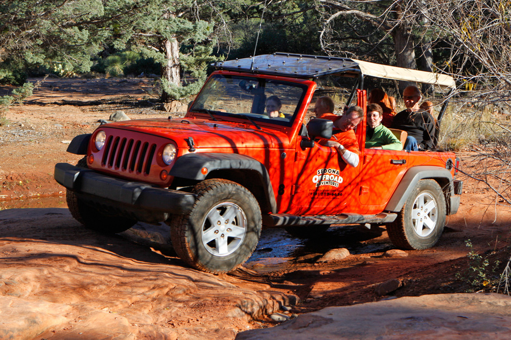 Sedona Offroad Adventures Jeep Tours outback