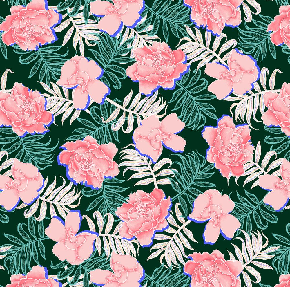 06320 - Asian Floral - 24 in Repeat - Moonlight Jade Combo - Target Xhilaration 2019.jpg