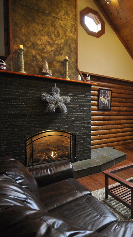 Real & Gas Fireplaces will keep you warm and dry -