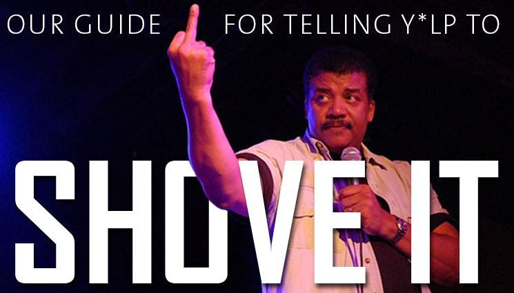 neil degrass tyson shove's it to Yelp.JPG