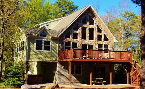 Pocono Home Cabin Rentals Houses Cabins Lodges