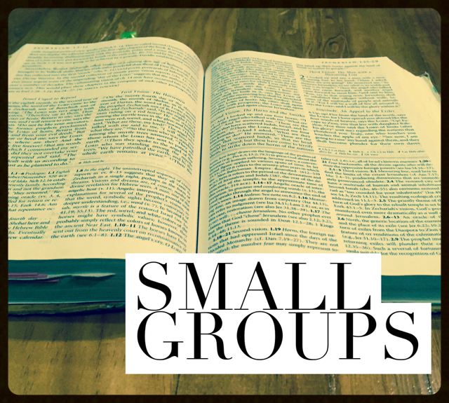 There are several weekday bible studies and small group opportunities to become involved in.    Learn more...
