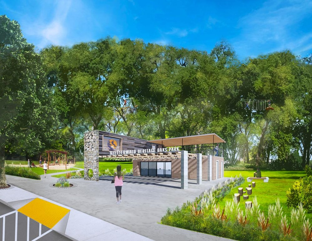 Klettwerwald Heritage Oaks Park  - coming soon in 2019