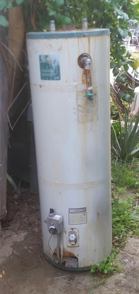 Broken Water Heater