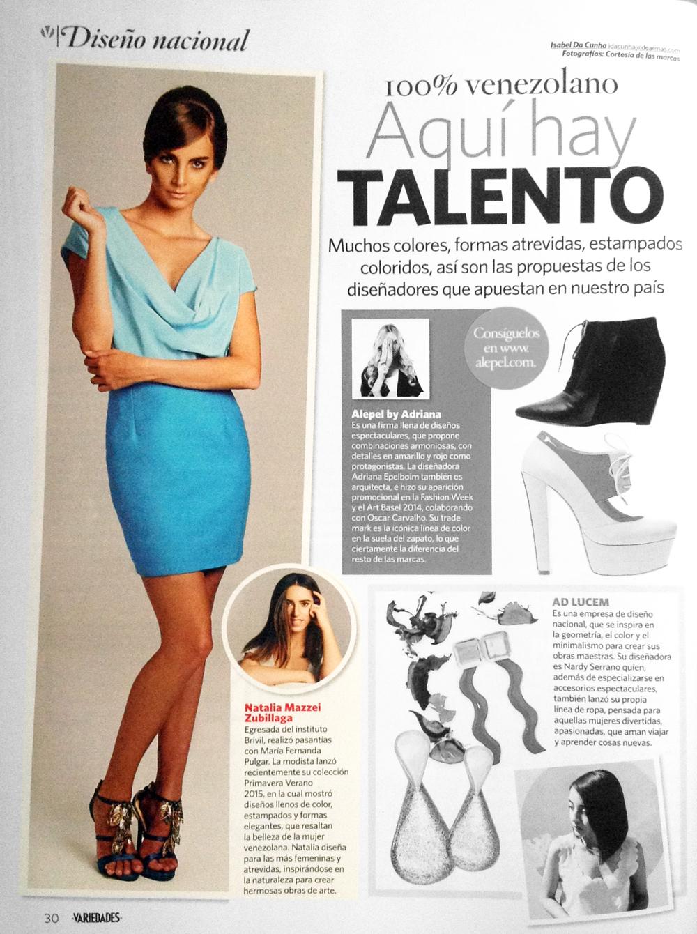 Revista VARIEDADES - 2015