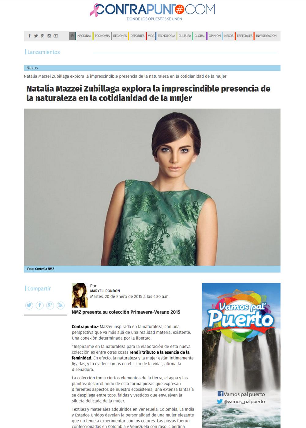 www.contrapunto.com  - Enero 2015