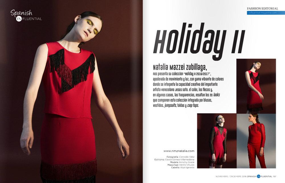 Revista  SPANISH INFLUENTIAL  - Noviembre/Diciembre 2016