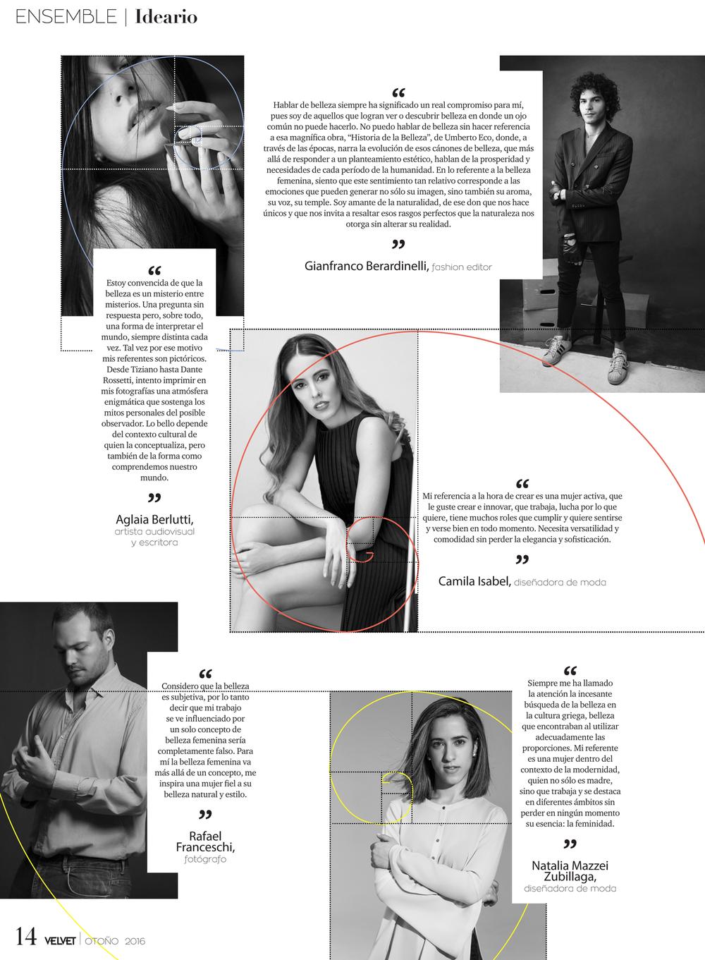 Revista VELVET - Otoño 2016