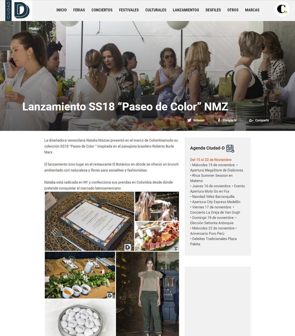 www.ciudad-d.com  - Agosto 2017