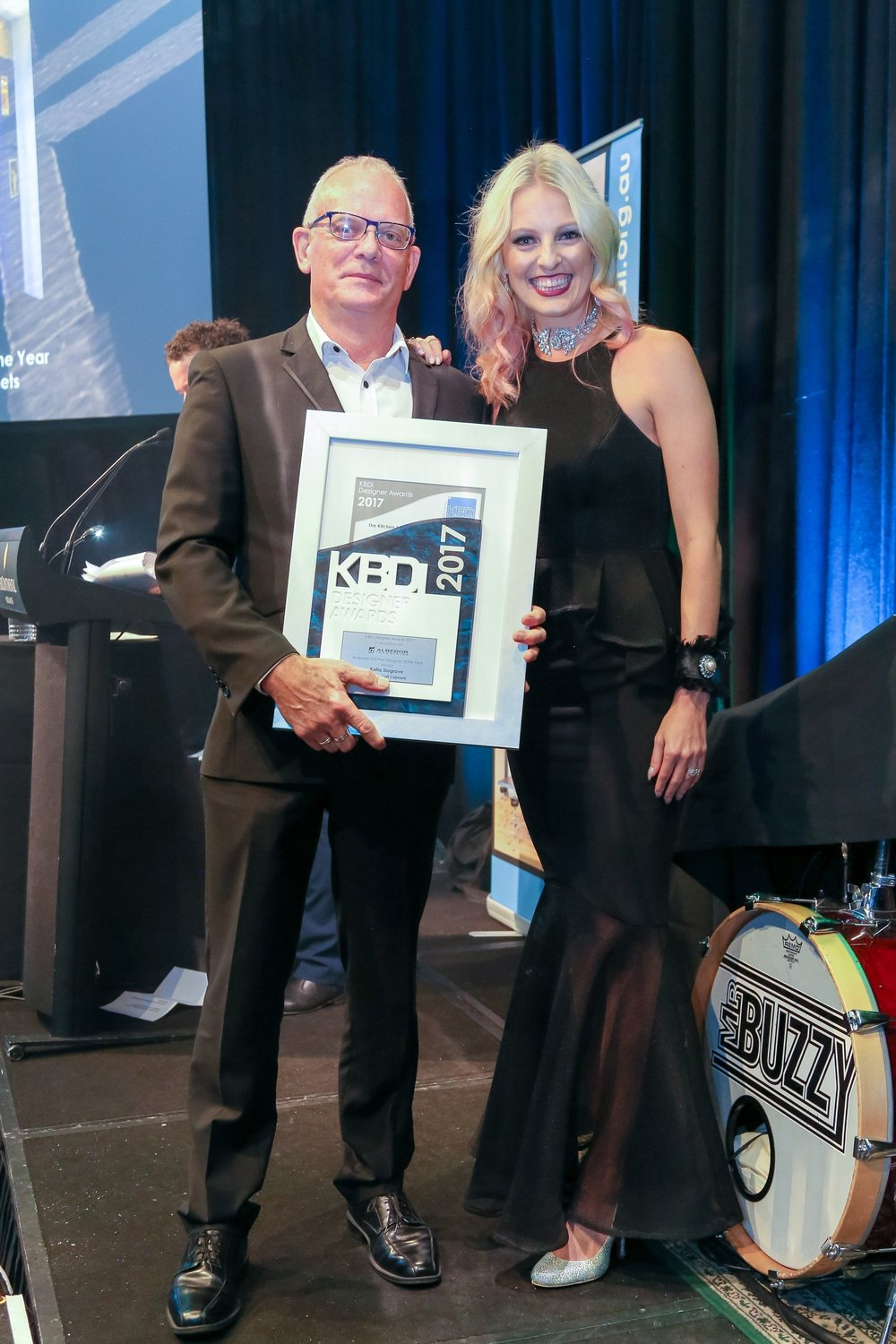 KBDI 2017 Winner - Designer of the year - Katia Slogrove