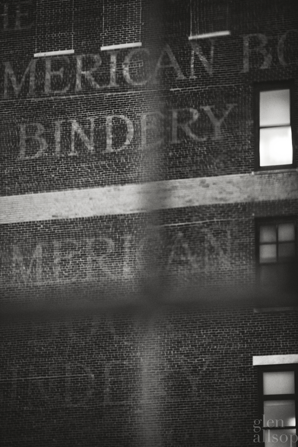 american bindery-new york-black and white-nyc