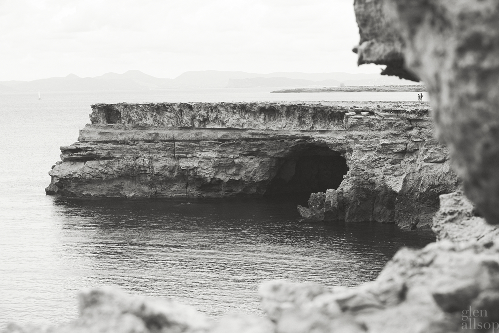 formentera-cliffs-glen allsop-black and white-landscape