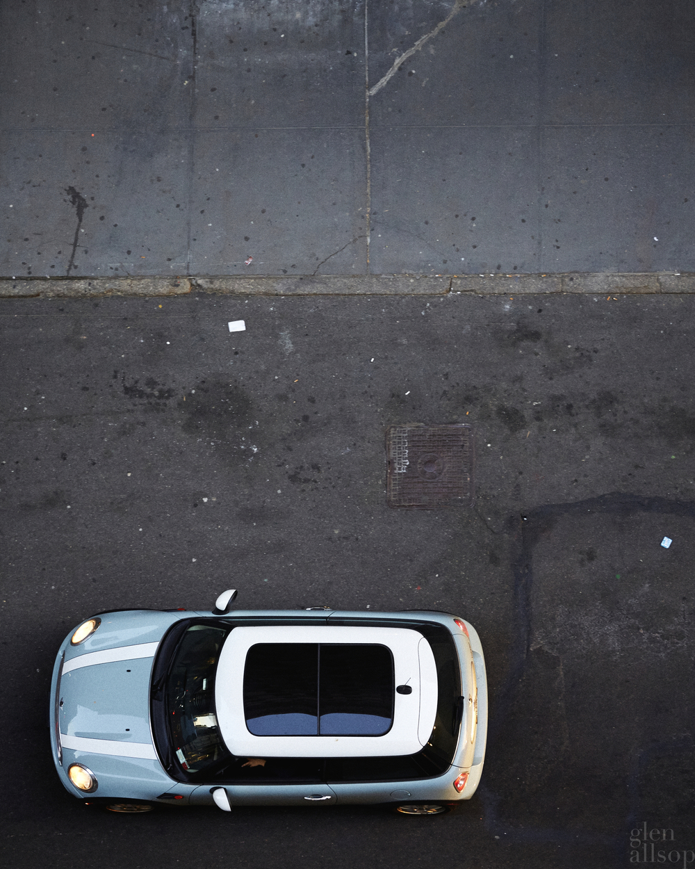 mini-new york-mini roof-bmw-teal
