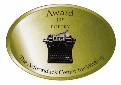 ADIRONDACK CENTER FOR WRITING BEST POETRY AWARD 2012