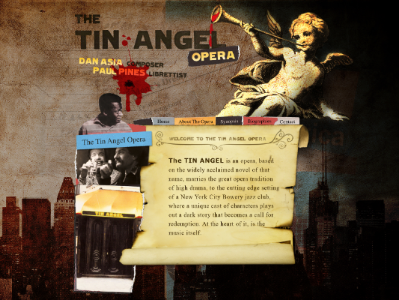 THE TIN ANGEL OPERA WEBSITE