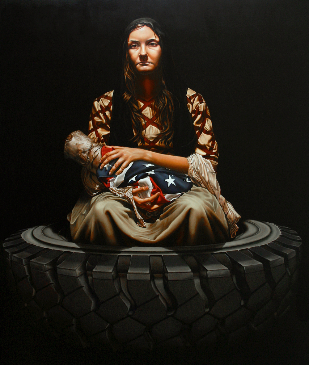 """The Devil's Lullaby"" Oil on Canvas. 59"" X 73"""