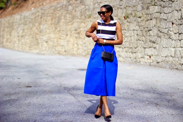 CULOTTES, BLUE PANTS, BLUE CULOTTES, WIDE LEG PANTS, BLAQUE, BLAQUE PANTS, SHOPBOP, CELINE, BLACK SUNGLASSES, SPRING TRENDS, SPRING FASHION, SPRING STYLE, fashion, fashion friday, tgif,  reed krakoff cuff, silver cuff, reed krakoff,   FASHON, STYLE, FASHION BLOG, FASHION BLOGGER, F BLOGGER, STYLE BLOG, STYLEBLOGGER, STYLIST, STYLISH, STREETSTYLE, PERSONAL STYLE, PERSONAL STYLE BLOGGER, BLOGGER, BLOG, INSTA STYLE, INSTA FASHION, WHAT TO WEAR, OOTD, FASHION OF THE DAY, STYLE OF THE DAY, FASHION AND STYLE, winter STYLE, WHAT TO WEAR FOR This season, MUST HAVE, winter TRENDS, fashion TRENDS  , Atlanta blogger