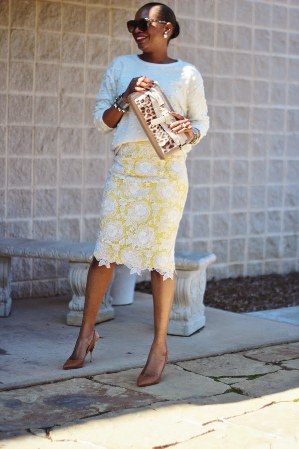 Ann Taylor, over coat, color blocking, lace skirt, midi skirt, sweater, cream sweatrer, ivory sweater, silver cuff, reed krakoff, reed krakoff jewelry, silver jewelry, daniel wellington, leopard print, leopard print clutch, leopard print bag, snake skin bag, snake bag, christian louboutin, red bottoms, designer shoes,CHRISTIAN DIOR EARRRINGS, HAIR IN A BUN, PONYTAIL, RED LIPS, ASOS, ASOS MIDI SKIRT, GREEN SKIRT, GOLD SKIRT, ROCKSTUDS, VALENTINO ROCKS STUD, VALENTINO SHOES, LAER BRAND JACKET, LAER BRAND, WCW, WEDNESDAY, WOW,   oversized sunglasses, hair in a pony tail, atlanta blogger, WOW, WEDNESDAY, WCW, blogger, blog fashion blog, KRAKOFF, REED KRAKOFF, MIDDLE PART, HAIR STYLES, MIDDLE PART BUM, SILVER CUFF, ATLANTA BLOGGER, BLOGGER STYLE, ASHON, STYLE, FASHION BLOG, FASHION BLOGGER, F BLOGGER, STYLE BLOG, STYLEBLOGGER, STYLIST, STYLISH, STREETSTYLE, PERSONAL STYLE, PERSONAL STYLE BLOGGER, BLOGGER, BLOG, INSTA STYLE, INSTA FASHION, WHAT TO WEAR, OOTD, FASHION OF THE DAY, STYLE OF THE DAY, FASHION AND STYLE, winter STYLE, WHAT TO WEAR FOR This season, MUST HAVE, april fools day, winter TRENDS, fashion TRENDS, blogger style, tortoise, tortoise shell sunglasses,
