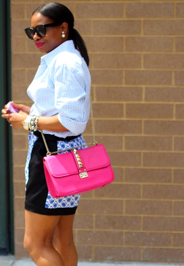 gingham, gingham shirt, geometric print, high waist shorts, target style, empire case, phone case, floral phone case, pink bag, valentino bag, rockstuds, celine sunglasses, chirstian dior, double earrings, traci lynn jewelry, manolo blahnik, pink shoes, WCW, WOW, WEDNESDAY, MICHELE WATCH, GOLD BAG, FLORAL SHOES, MONDAY MOTIVATION,  floral, floral print, floral shoes, floral pumps, sheet dress, short dress, green bag, givenchy bag, antigona bag, michele watch, gold watch, crawler earrings, shopbop, shops around lenox, atlanta, shopping, nordstrom,  manolo blahnik shoes, manolo blahnik  bb pumps, bb pumps, pink bag, fuschia bag, valentino bag, lock bag, medium lock bag, chain bag,  celine, celine sunglasses,  BLACK SUNGLASSES, SPRING TRENDS, SPRING FASHION, SPRING STYLE, fashion, fashion friday, tgif,  reed krakoff cuff, silver cuff, reed krakoff,   FASHON, STYLE, FASHION BLOG, FASHION BLOGGER, F BLOGGER, STYLE BLOG, STYLEBLOGGER, STYLIST, STYLISH, STREETSTYLE, PERSONAL STYLE, PERSONAL STYLE BLOGGER, BLOGGER, BLOG, INSTA STYLE, INSTA FASHION, WHAT TO WEAR, OOTD, FASHION OF THE DAY, STYLE OF THE DAY, FASHION AND STYLE, winter STYLE, WHAT TO WEAR FOR This season, MUST HAVE, winter TRENDS, fashion TRENDS  , Atlanta blogger