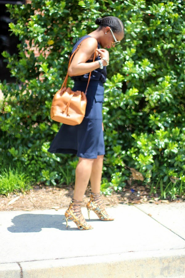 ann taylor, navy, bucket bag, j crew, midi skirt, lace top, laser cut top, round sunglasses, tom ford sunglasses, brown bag, gold cuff, David Yurman, aquazzura, strappy sandals, snake skin sandals,   SPRING TRENDS, SPRING FASHION, SPRING STYLE, fashion, fashion friday, tgif,  reed krakoff cuff, silver cuff, reed krakoff,   FASHON, STYLE, FASHION BLOG, FASHION BLOGGER, F BLOGGER, STYLE BLOG, STYLEBLOGGER, STYLIST, STYLISH, STREETSTYLE, PERSONAL STYLE, PERSONAL STYLE BLOGGER, BLOGGER, BLOG, INSTA STYLE, INSTA FASHION, WHAT TO WEAR, OOTD, FASHION OF THE DAY, STYLE OF THE DAY, FASHION AND STYLE, winter STYLE, WHAT TO WEAR FOR This season, MUST HAVE, winter TRENDS, fashion TRENDS  , Atlanta blogger