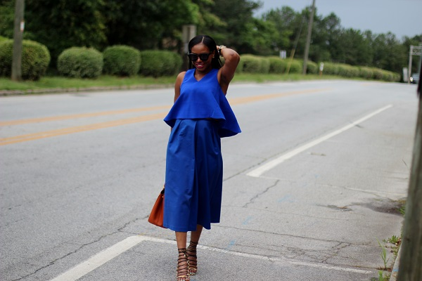 blaquel label, c/meo collective, shopbop, blue croptop, crop top, flouncy top, c/meo crop top, wide leg pants, wide crop pants, culottes, blue culottes, snake skin shoes, snake skin sandals, aquqzzura, orange bag, prada bag, saffiano tote, saffinano bag, prada saffinano bag, papaya bag, celine sunglasses, black sunglasses, earcrawlers, blue outfit, monochromatic outfit, , SAFFIANO TOTE, SAINT LAURENT SUNGLASSES, TORTOISESHELL  SUNGLASSES, BLOOR STREET, BLOGGER STREET FASHION, STREET STYLE, LITTLE MISTRESS, JUMPSUIT, FLORAL PRINT, little mistress, girls on film, girls on film clothing, girls on film midi dresses, girls on tropical print, dark tropical print, gucci, gucci bag, bag on a chain, chain bag, red gucci bag, red gucci chain bag, gucci chain bag, christian louboutin shoes, patent leather pumps, Christin Louboutin patent leather pumps, red bottoms, red soles, body con dress, body conscious dress, cut out dress, floral cut out dress, fitted dress, midi dress, Christian dior, double earrings, double sided earrings, red lips, nars lip pencil, dragon girl lip pencil, dragon girl,  wcw, wednesday,  Daniel wellington, Daniel Wellington watch, birthday, June baby, Gemini, black sunglasses, Celine sunglasses, cat eye sunglasses, WOMEN'S FASHION, SUMMER TRENDS, SUMMER FASHION, SUMMER STYLE, SUMMER 2015, SUMMER TIME, STREET STYLE,  FASHON, STYLE, FASHION BLOG, FASHION BLOGGER, F BLOGGER, STYLE BLOG, STYLEBLOGGER, STYLIST, STYLISH, STREETSTYLE, PERSONAL STYLE, PERSONAL STYLE BLOGGER, BLOGGER, BLOG, INSTA STYLE, INSTA FASHION, WHAT TO WEAR, OOTD, FASHION OF THE DAY, STYLE OF THE DAY, FASHION AND STYLE, winter STYLE, WHAT TO WEAR FOR This season, MUST HAVE, summer, summer fashion, summer style, summer TRENDS, fashion TRENDS  , Atlanta blogger