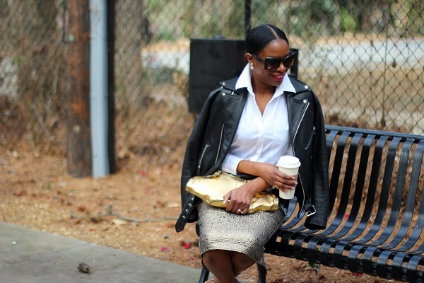 WHITE SHIRT, REED KRAKOFF, GOLD CLUTCH, ALEXANER MCQUEEN, GOLD BAG, HAIR STYLES, 360 EARRINGS, TRIBAL EARRINGS, BUTTER FLY SUNGLASSES, BUTTER FLY FRAMS, REED KRAKOFF SUNGLASSES, CHRISTIAN DIOR EARRRINGS, HAIR IN A BUN, PONYTAIL, RED LIPS, ASOS, ASOS MIDI SKIRT, GREEN SKIRT, GOLD SKIRT, ROCKSTUDS, VALENTINO ROCKS STUD, VALENTINO SHOES, LAER BRAND JACKET, LAER BRAND, WCW, WEDNESDAY, WOW,   oversized sunglasses, hair in a pony tail, atlanta blogger, WOW, WEDNESDAY, WCW, blogger, blog fashion blog, KRAKOFF, REED KRAKOFF, MIDDLE PART, HAIR STYLES, MIDDLE PART BUM, SILVER CUFF, ATLANTA BLOGGER, BLOGGER STYLE, ASHON, STYLE, FASHION BLOG, FASHION BLOGGER, F BLOGGER, STYLE BLOG, STYLEBLOGGER, STYLIST, STYLISH, STREETSTYLE, PERSONAL STYLE, PERSONAL STYLE BLOGGER, BLOGGER, BLOG, INSTA STYLE, INSTA FASHION, WHAT TO WEAR, OOTD, FASHION OF THE DAY, STYLE OF THE DAY, FASHION AND STYLE, winter STYLE, WHAT TO WEAR FOR This season, MUST HAVE, winter TRENDS, fashion TRENDS, blogger style,